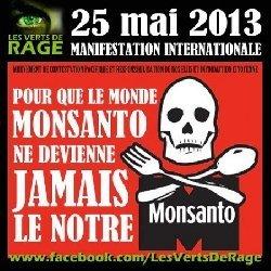 Un Monde  Sans Monsanto : Manifestation Mondiale du 25 mai