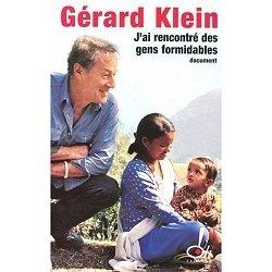 J'ai rencontré des gens formidables, de Gérard Klein, Oh! Editions