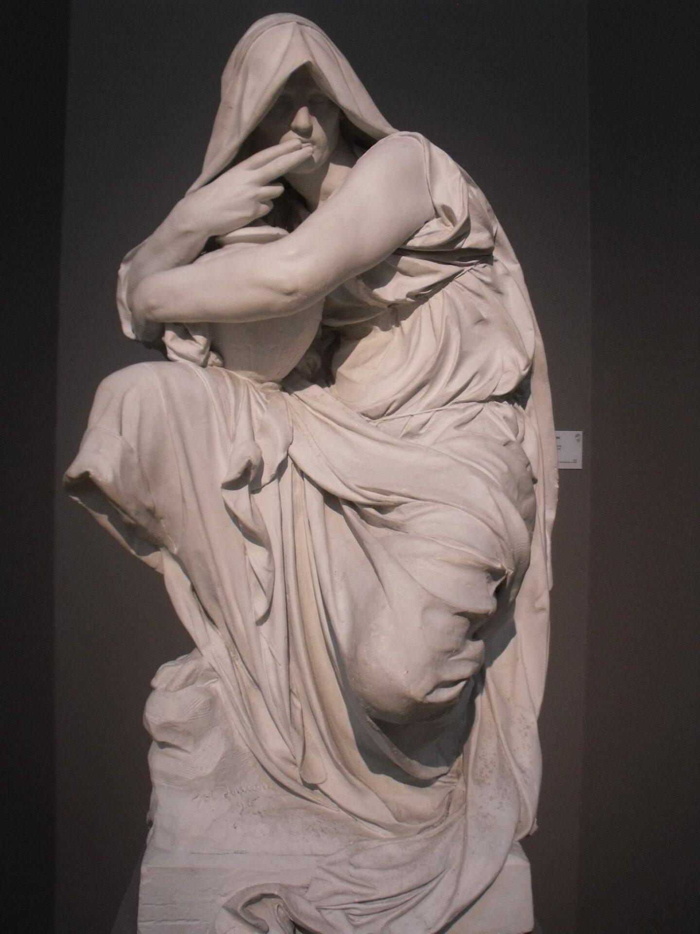 XL Le silence de la tombe  Julien Dillens 1896