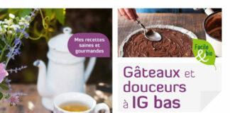 Gâteaux et douceurs à IG bas