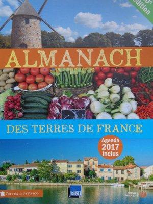 Almanach 2017 des Terres de France (Presses de la Cité et France Bleu)