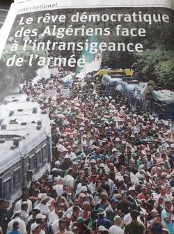 """Le quotidien """"La Libre Belgique"""" n'hésite pas relater les souffrances et espoirs du peuple algérien de manière régulière."""