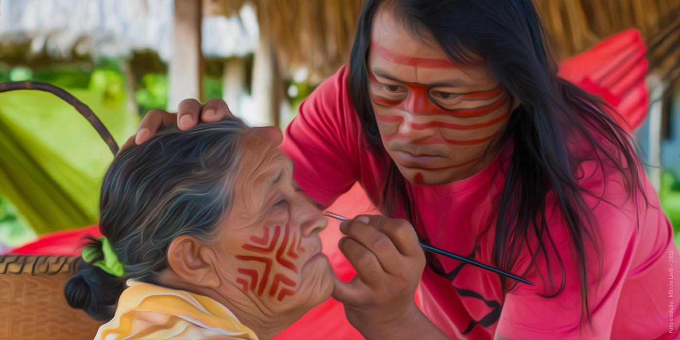 Autochtones du Brésil : l'art comme arme de sensibilisation